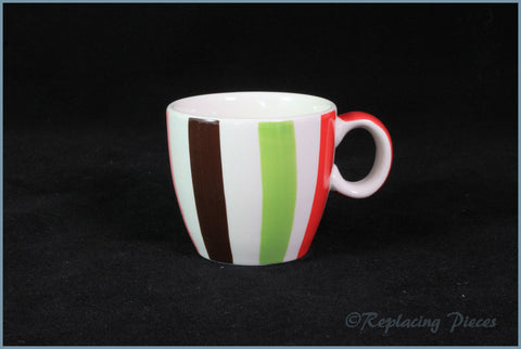 Marks & Spencer - Spots & Stripes - Coffee Cup (Thick Stripe)