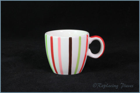 Marks & Spencer - Spots & Stripes - Coffee Cup (Thin Stripe)