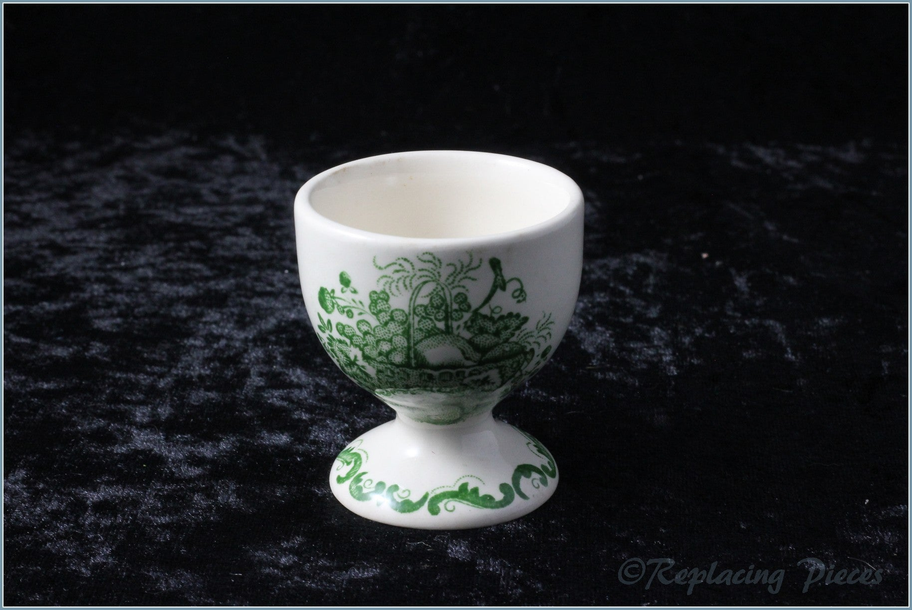 Masons - Fruit Basket (green) - Egg Cup (footed)
