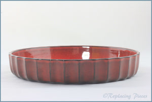 Portmeirion - Red Dragon - Flan Dish