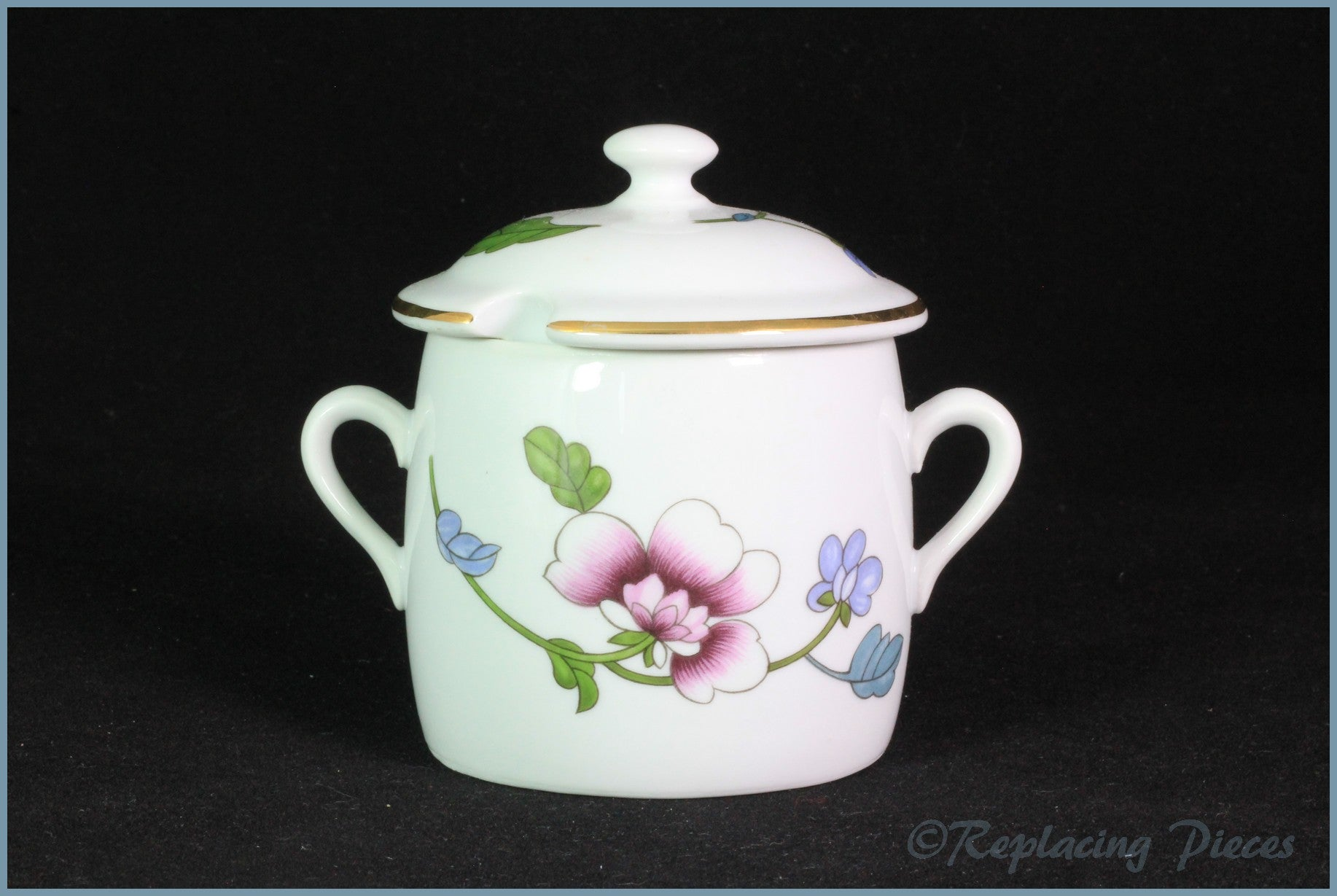 Royal Worcester - Astley (Gold Edge) - Jam Pot