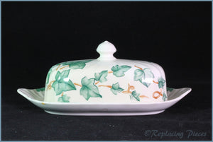 BHS - Country Vine - Lidded Butter Dish
