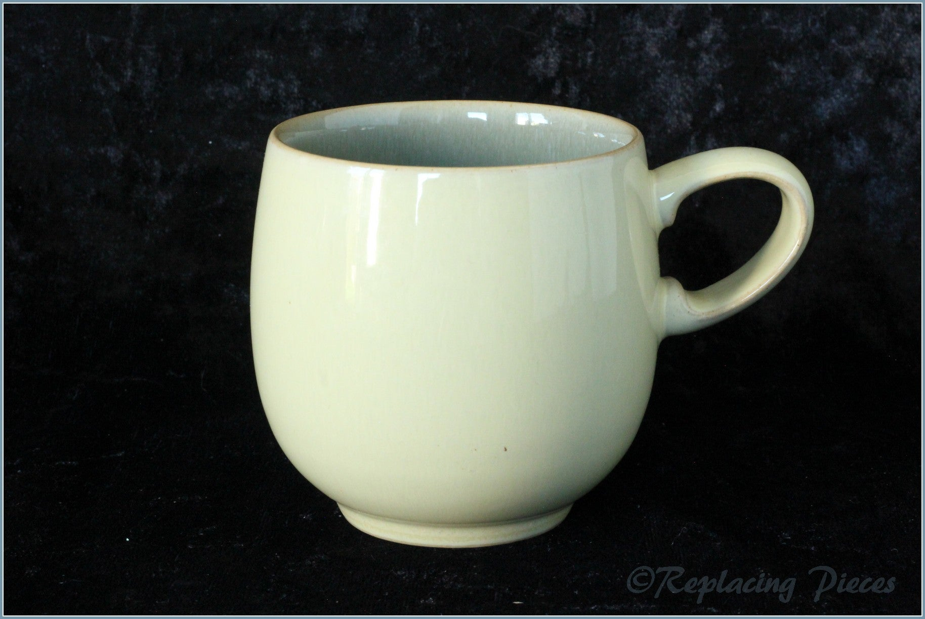 Denby - Fire - Small Mug (Green Interior)