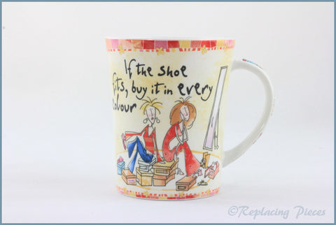 Johnson Brothers - Born To Shop - Mug (If The Shoe Fits)