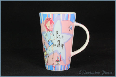 Johnson Brothers - Born To Shop - Mug (Girls)