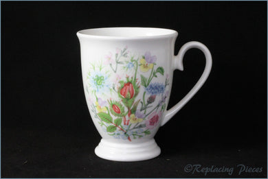 Aynsley - Wild Tudor - Footed Mug