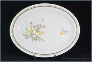 "Royal Doulton - Will O The Wisp (LS1023) - 13 3/8"" Oval Platter"
