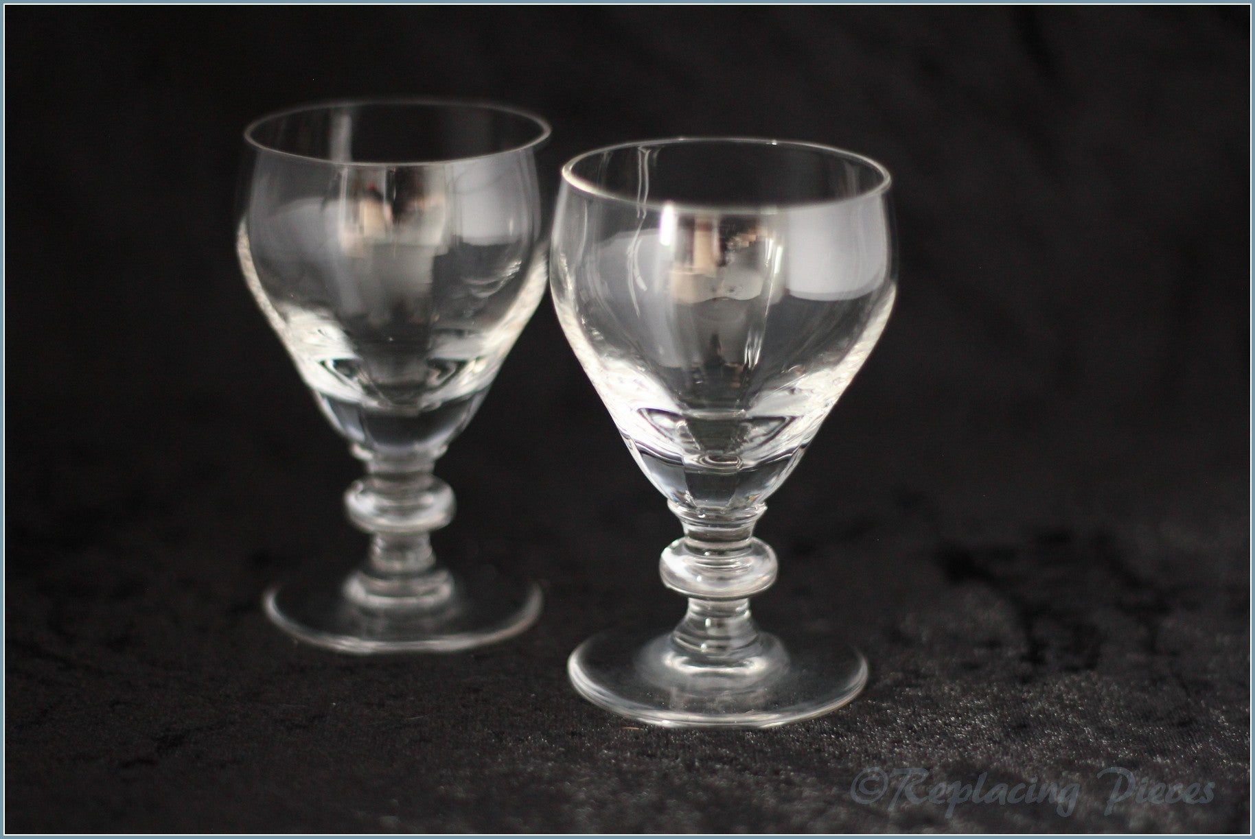 Pair Of Small Wine Glasses