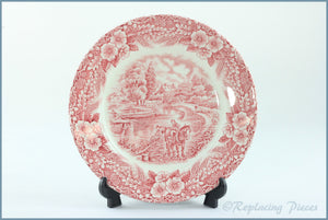 "Broadhurst - The Constable Series (Pink) - 6 3/4"" Side Plate"