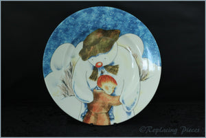 "Johnson Brothers  - The Snowman - 8 1/4"" Plate"