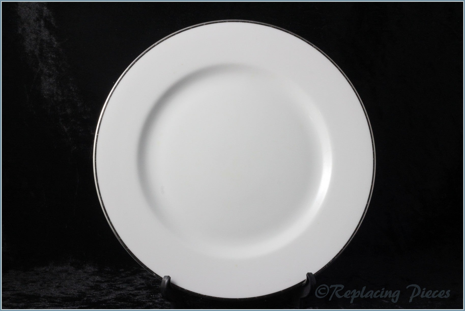 Royal Worcester - Classic Platinum - Dinner Plate