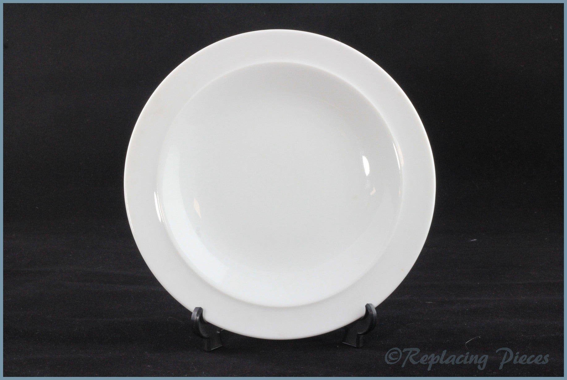 "Denby - White - 7 1/2"" Side Plate"