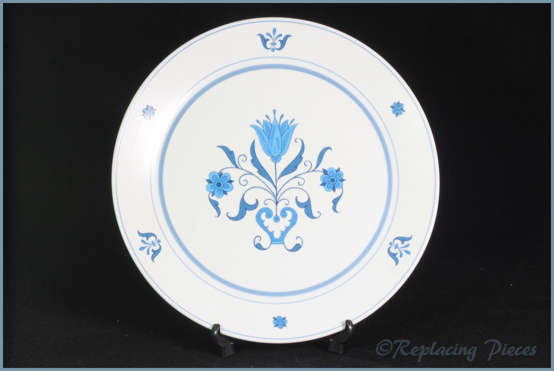 "Noritake - Blue Haven - 6 3/8"" Side Plate"