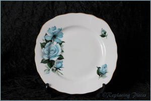 Queen Anne - 8282 (Blue Rose) - Side Plate