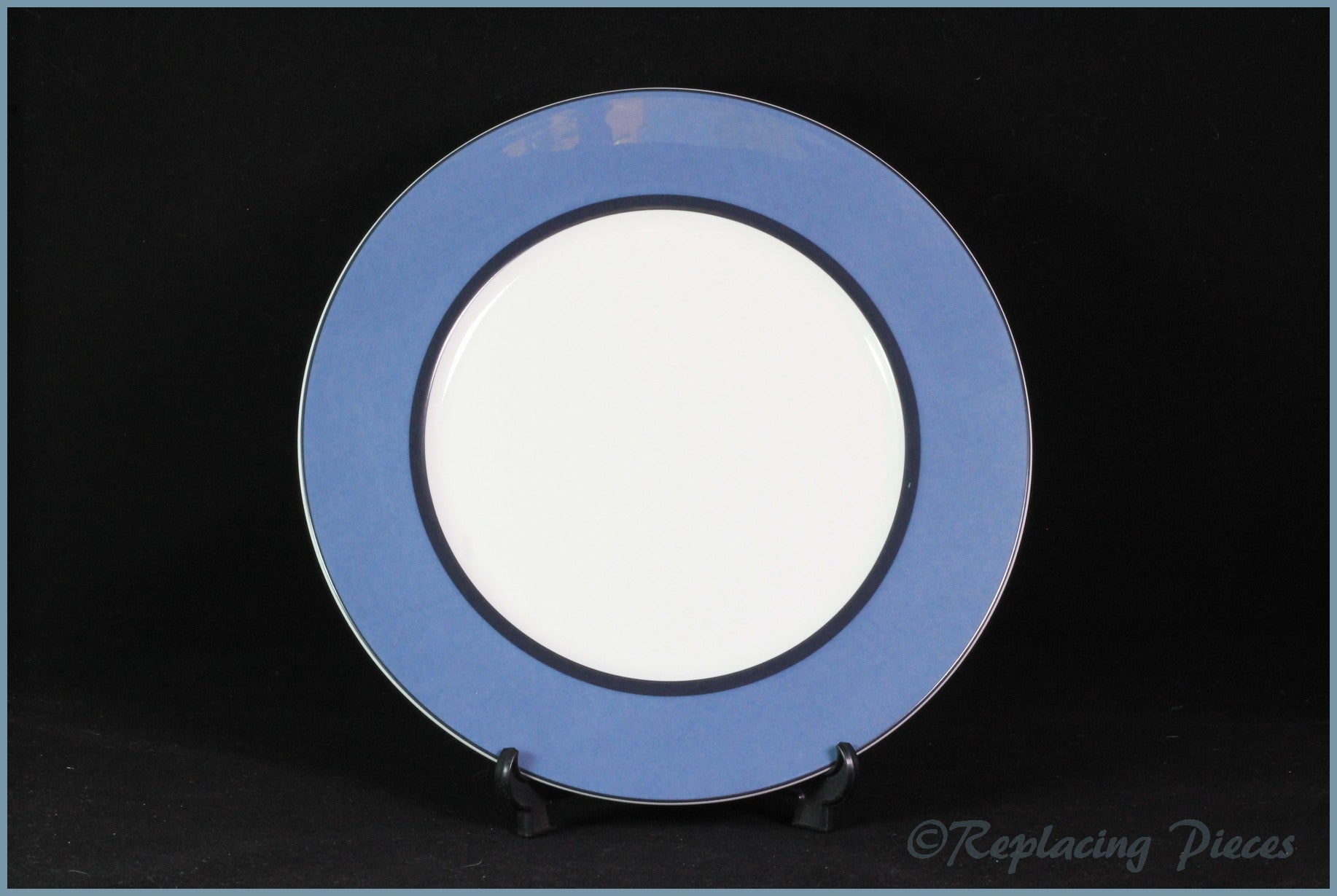 "Marks & Spencer - Manhattan (Blue) - 9 1/4"" Salad Plate"
