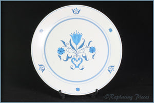 "Noritake - Blue Haven - 8 3/8"" Salad Plate"