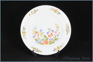 "Aynsley - Cottage Garden - 8 3/8"" Salad Plate"