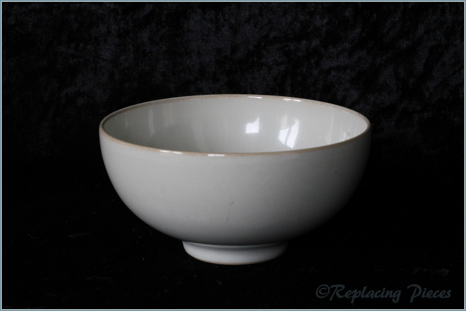 Denby - Linen - Rice Bowl