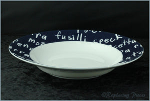 Marks & Spencer - Italian Eating - Rimmed Bowl