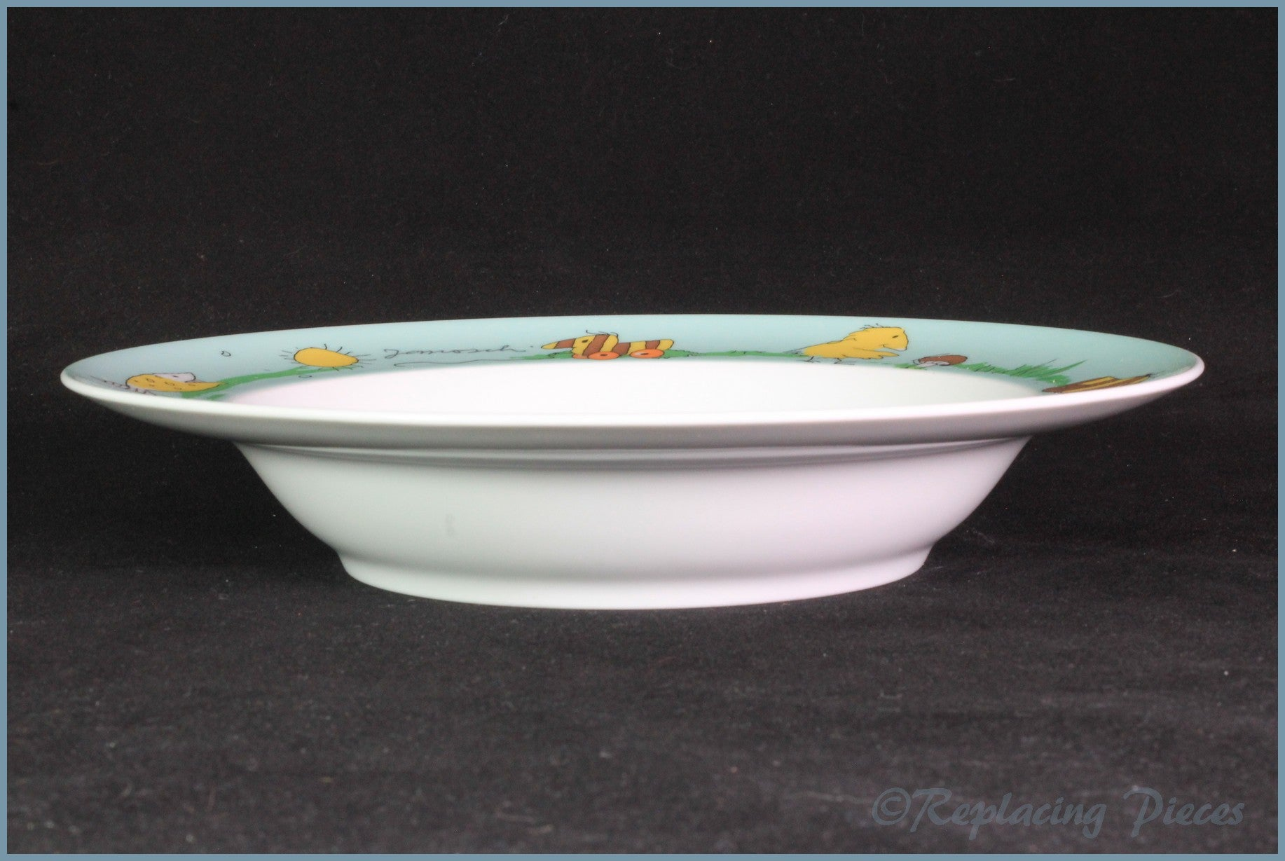 "Thomas - Panama - 9"" Rimmed Bowl"