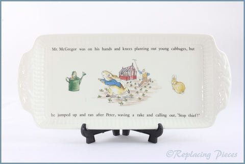 Wedgwood - Peter Rabbit - Sandwich Tray
