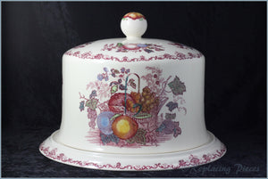 Masons - Fruit Basket Pink - Stilton Dome