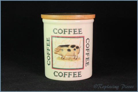Cloverleaf - Farm Animals - Storage Jar (Coffee)