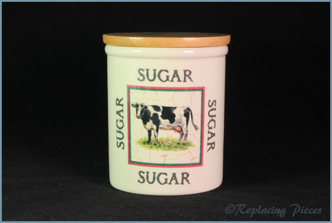 Cloverleaf - Farm Animals - Storage Jar (Sugar)