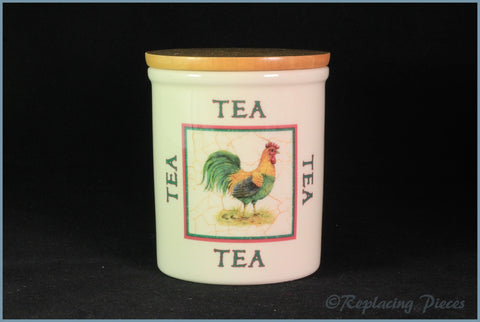 Cloverleaf - Farm Animals - Storage Jar (Tea)