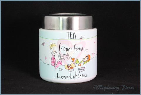 Johnson Brothers - Born To Shop - Tea Cannister