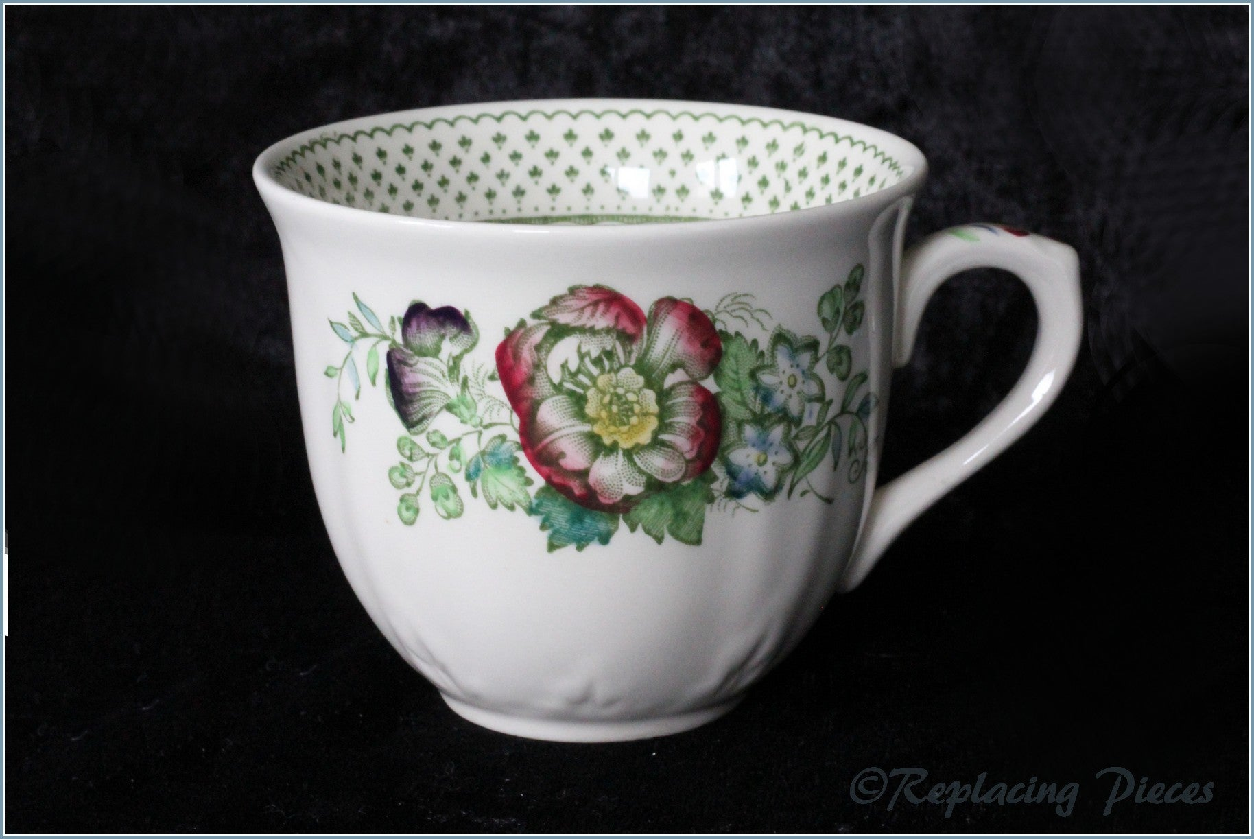 Masons - Paynsley (Green) - Teacup