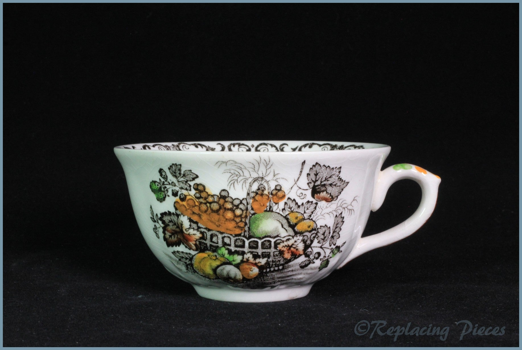 Masons - Fruit Basket Brown - Teacup (Low)