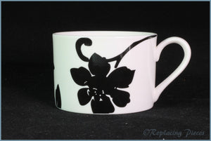 Marks & Spencer - Black Damask - Teacup