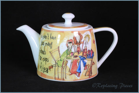 Johnson Brothers - Born To Shop - Teapot (You Can't Have..)
