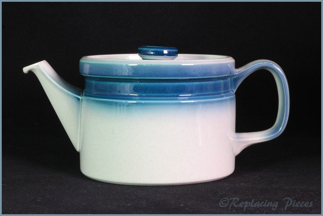 Wedgwood - Blue Pacific (Old Style) - 2 Pint Teapot