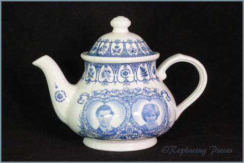 Broadhurst - Commemoration Of Charles & Diana's Wedding - Teapot