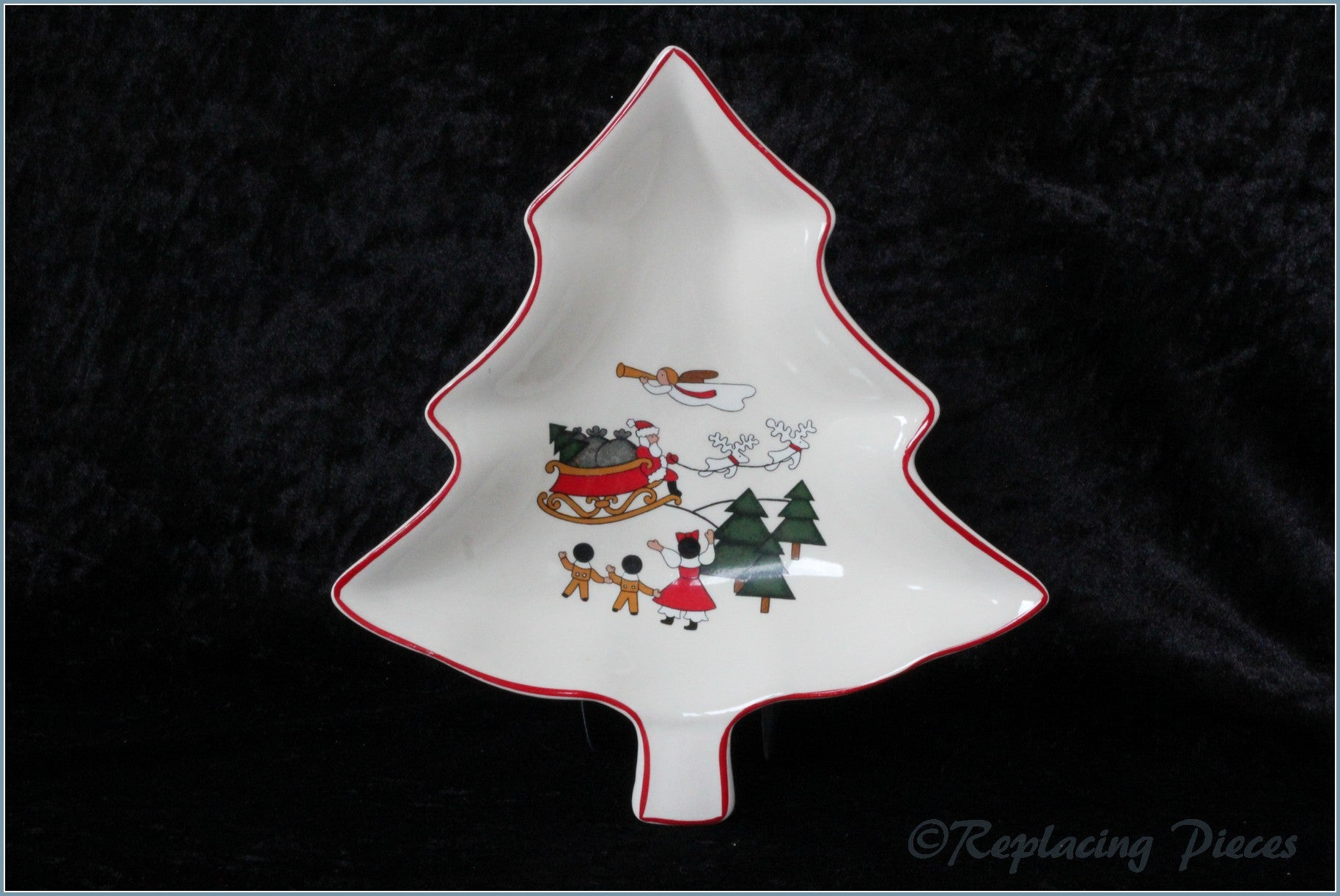 Masons - Christmas Village - Tree Dish