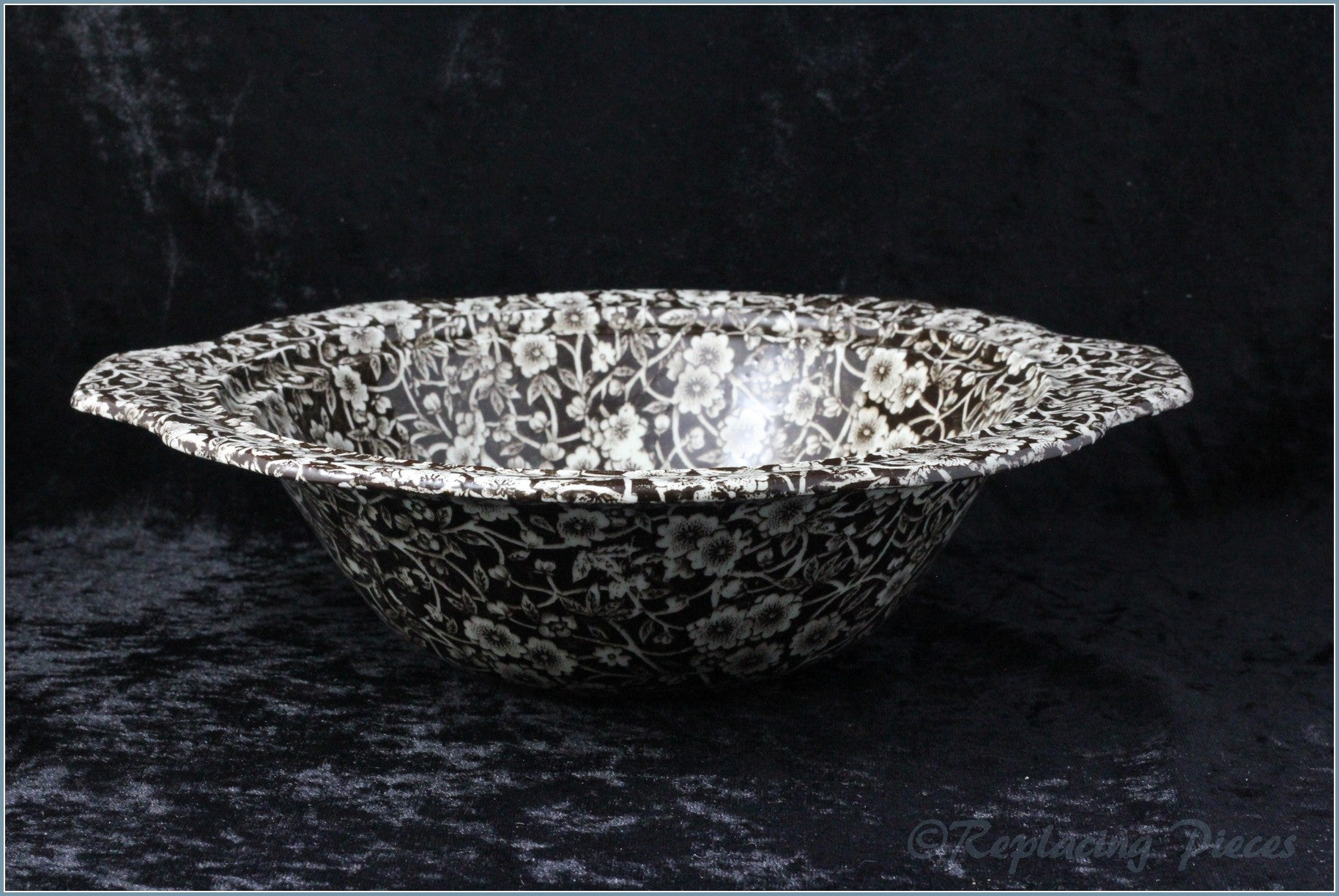 Burleigh - Calico (Brown) - Tureen Base ONLY