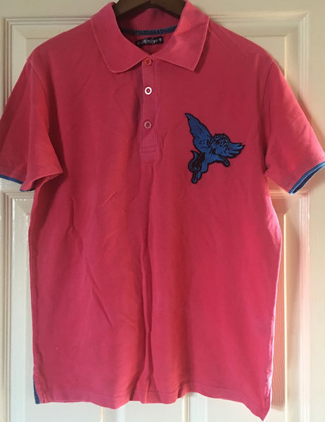 Henleys men's used polo shirt