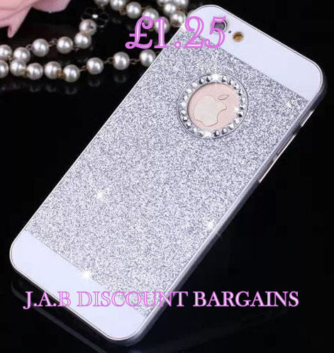 Blue Luxury Bling Back Hard Case Cover Skin For iPhone 4 - JAB Discount Bargains