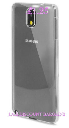 soft silicone clear case for samsung note 3 - JAB Discount Bargains