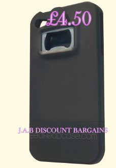 Protective Bottle Opener Case for iPhone 4 - JAB Discount Bargains