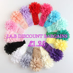 Baby/Girls Flower Headband - JAB Discount Bargains