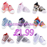 Infants Baby Casual Sole Crib Shoes Prewalkers Sneaker