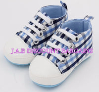 Infants Baby Casual Sole Crib Shoes Prewalkers Sneaker - JAB Discount Bargains