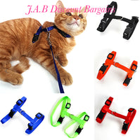 Cat/puppy adjustable harness and lead set - JAB Discount Bargains