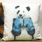 Cute design decorative large animal  velour collection cushion cover - JAB Discount Bargains