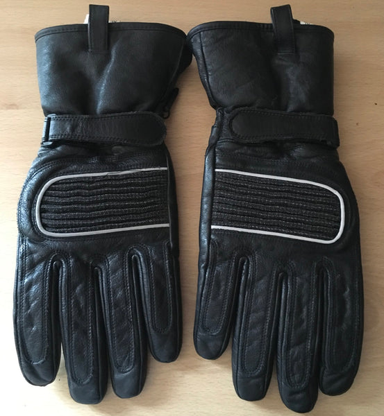 Used leather Biker motorcycle gloves - JAB Discount Bargains