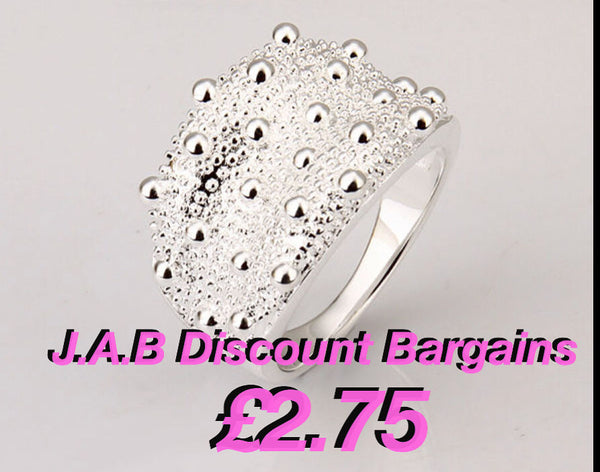 Fashion silver 925 ring - JAB Discount Bargains