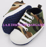 Infants Baby Casual Sole Crib Shoes Prewalkers Sneaker Camouflage
